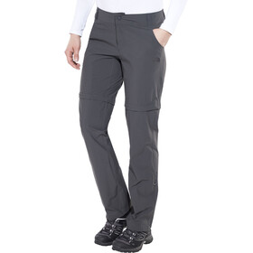 The North Face Exploration Aanpasbare Broek Korte maat Dames, asphalt grey